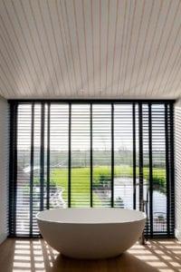 Variotherm klimaatplafonds badkamer