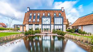 Klimaatplafond in luxe villa