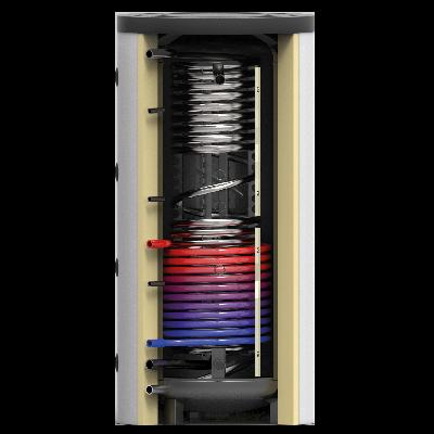 Hygiëne buffervaten met 1 warmtewisselaar - Technea SKS-1W