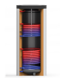 Tapwaterboilers / zonneboiler TWS-2W - Technea