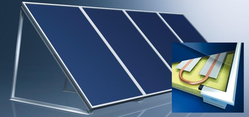Vlakke plaat zonnecollector – Thermic FK253