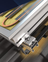 Thermic vlakke plaat zonnecollector vlakkeplaat TechneaDuurzaam