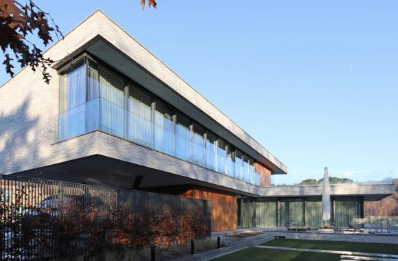 Variotherm klimaatplafond / koelplafond in villa Rhenen