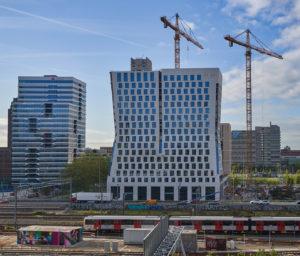 Hourglass Amsterdam - Zonnepanelen op 80 meter hoog