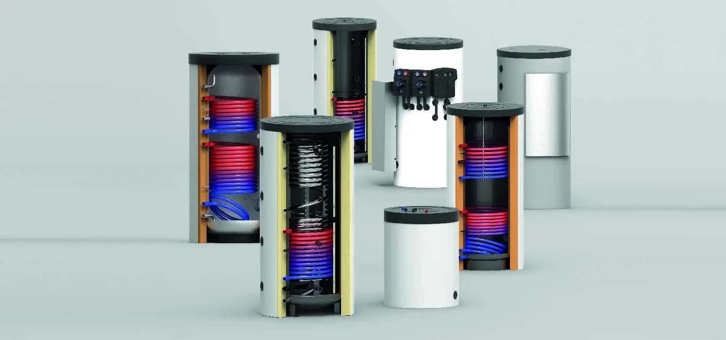 Energieopslag in een buffervat of tapwaterboiler?