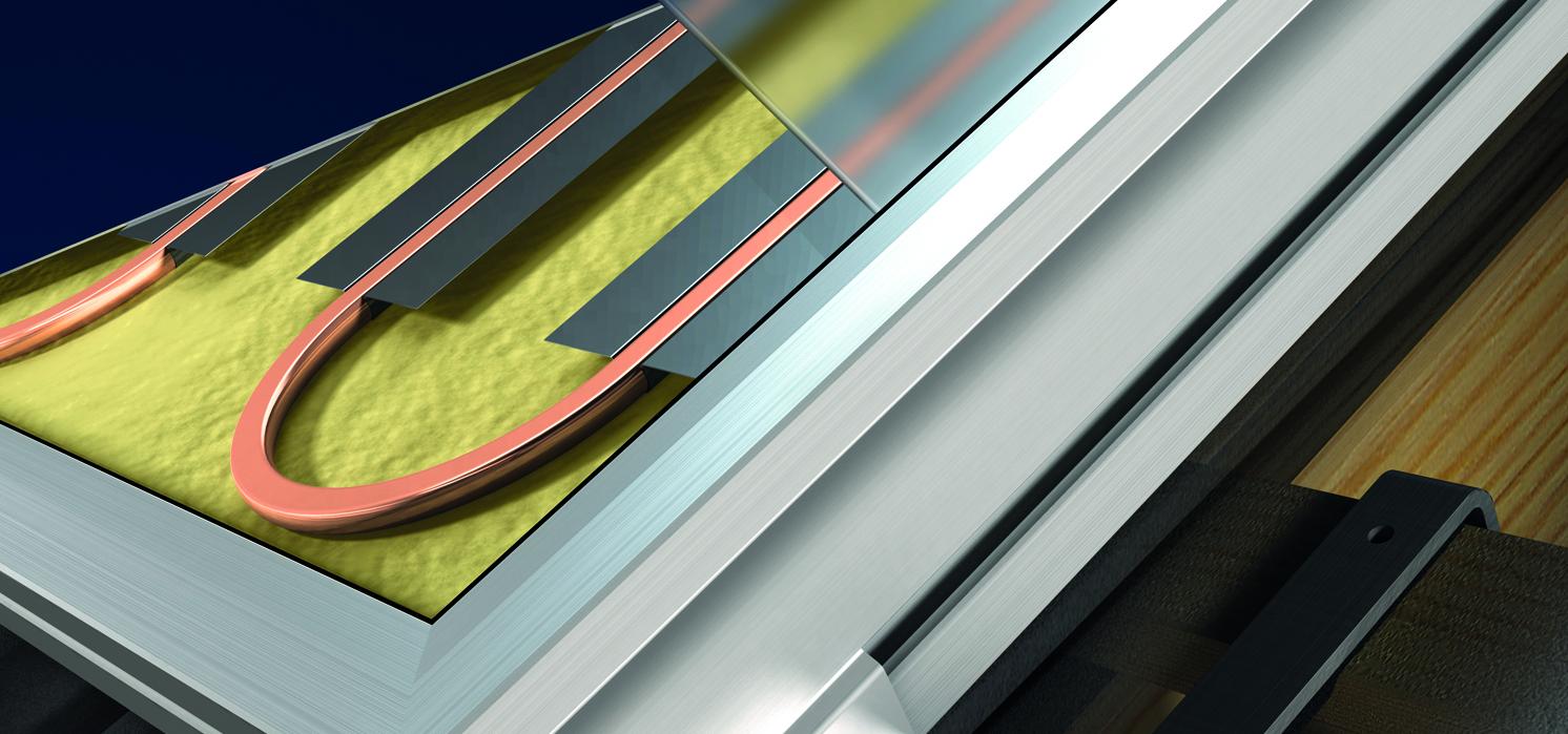 Zonnecollectoren essentieel bij warmtetransitie