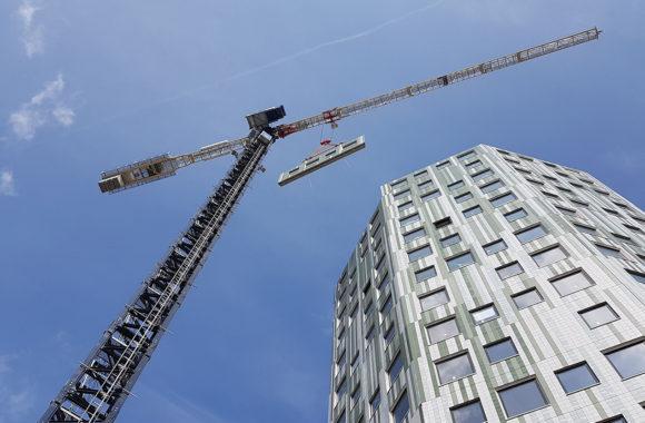 Zonnepanelen op flat - Helix Groningen