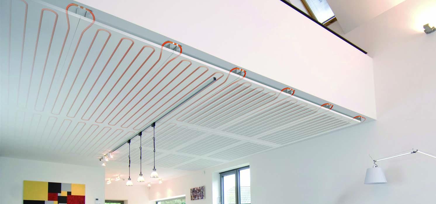 Koelen via het plafond versus koelen via de vloer