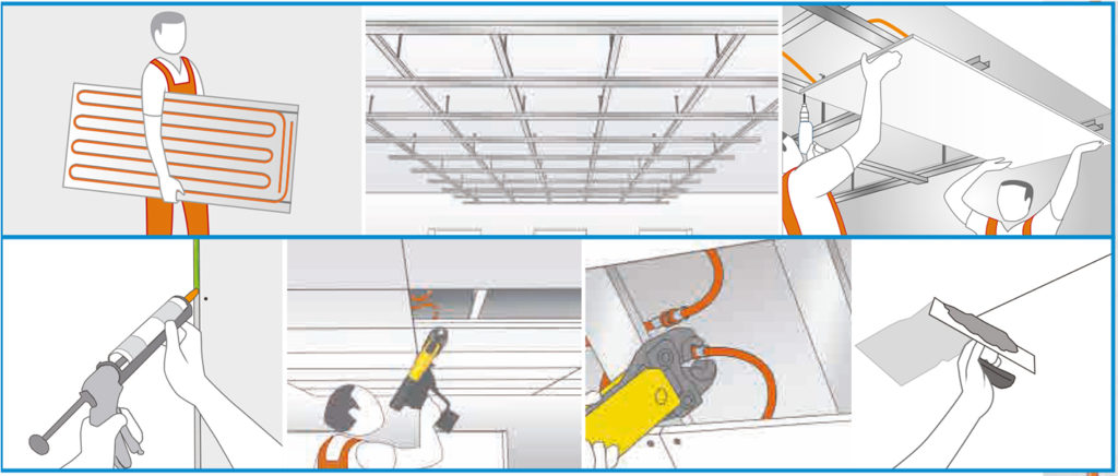 installatie_plafondverwarming
