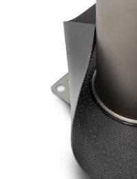 Kabeldoorvoer zonneboiler of warmtepomp - Technea