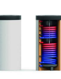 Technea zonneboiler voor tapwater - Met twee warmtewisselaars - TWS 2W