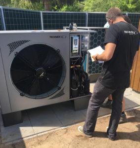 Warmtepomp service, inbedrijstelling en onderhoud